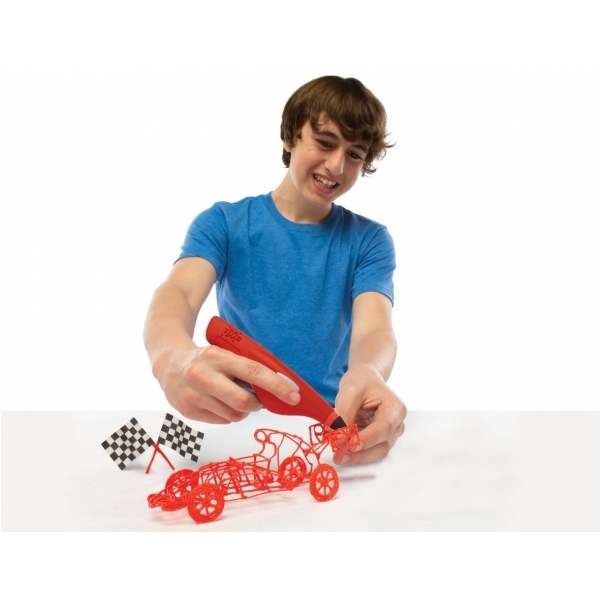 Cool Create IDO3D Red Machines That Go Starter Set - Image 2