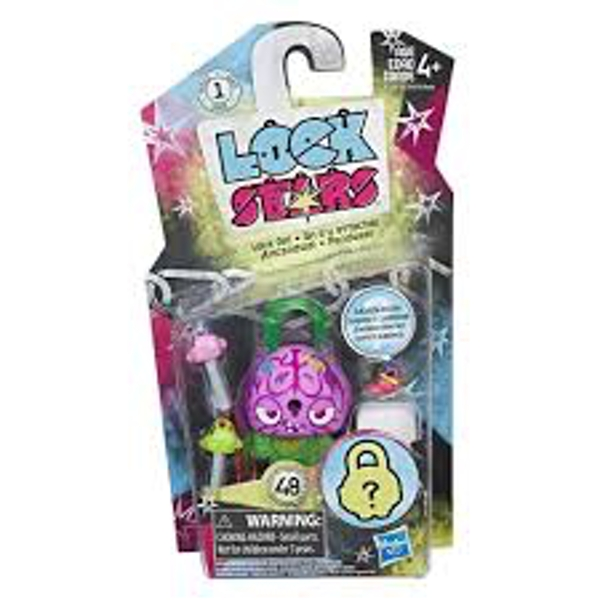 Lock Stars Series 1 - Nasty Brain Figure