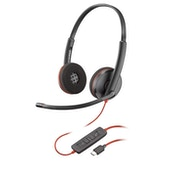 Plantronics Blackwire 3220 Binaural Head-band Black