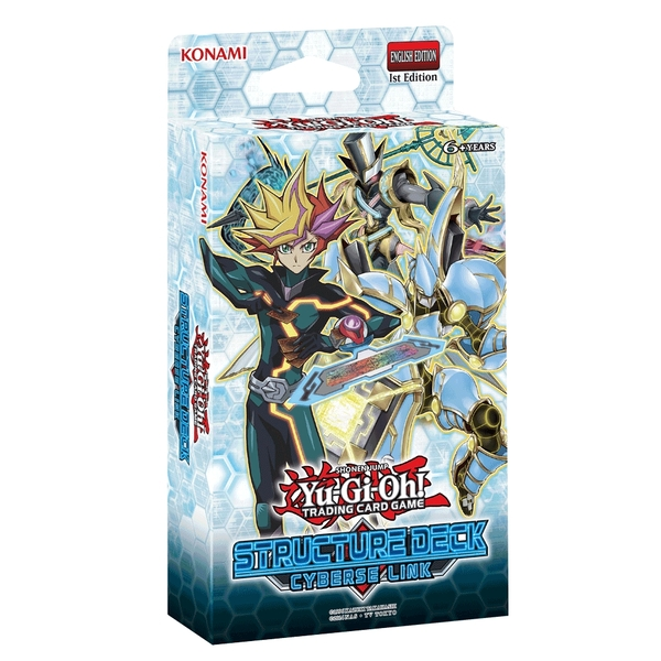 Yu-Gi-Oh! TCG Cyberse Link Structure Deck - Image 1