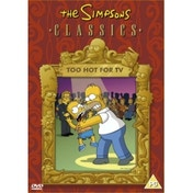 Simpsons: Too Hot For Tv DVD