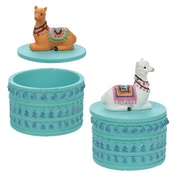 Alpaca (Random Pack Of 4) Trinket Box