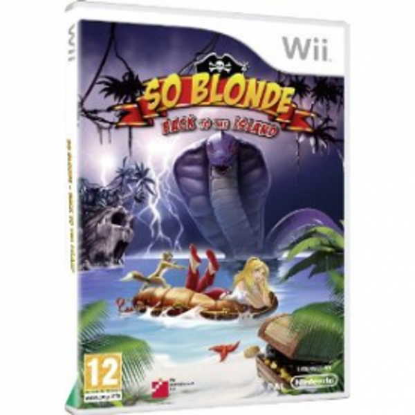 So Blonde Back To The Island Game Wii