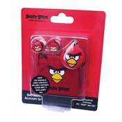 Angry Birds Red Bird Buds Crazy Character Gamer Ear Buds