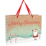 Santa Extra Large Giftbag Pack Of 6