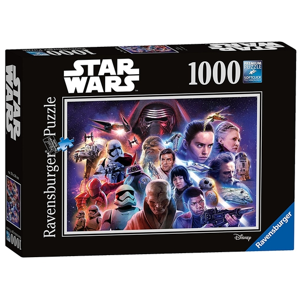 Ravensburger Star Wars Collection VIII 1000 Piece Jigsaw Puzzle