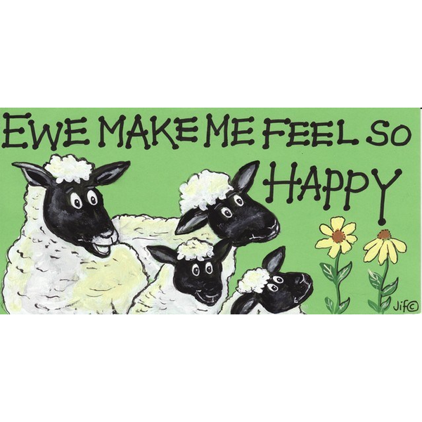 Ewe Make Me Feel So Happy Pack Of 12