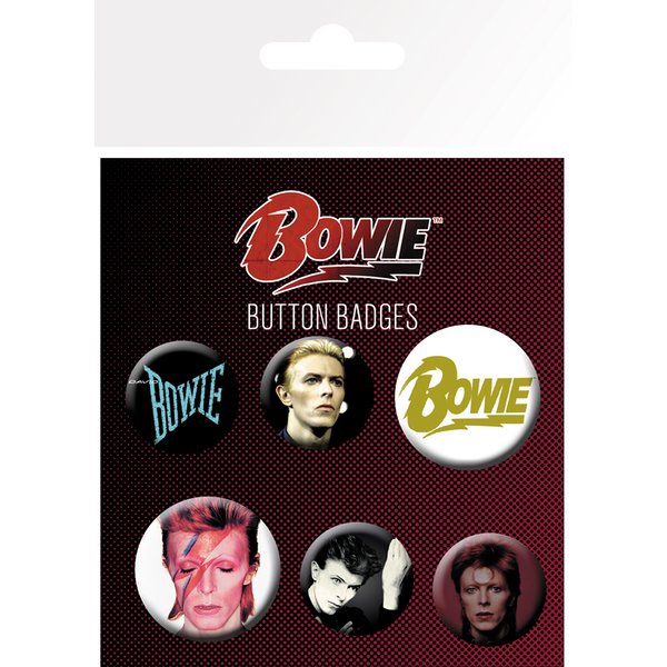 David Bowie Mix Badge Pack