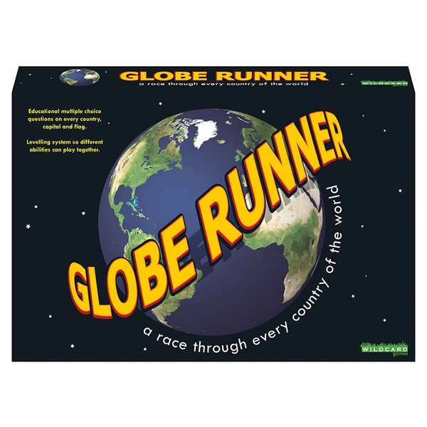 GLOBE RUNNER - A race through every country of the world Board Game