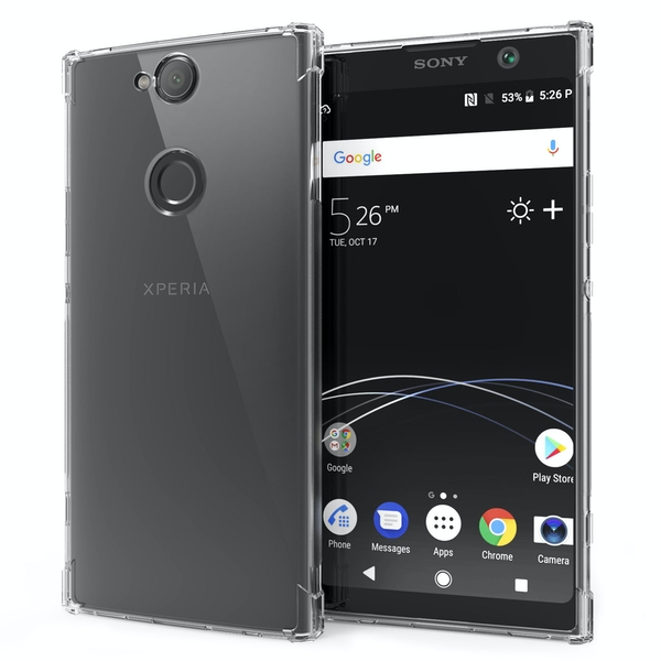 CASEFLEX SONY XPERIA XA2 PLUS ALPHA TPU GEL - CLEAR