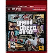 Grand Theft Auto GTA Episodes From Liberty City Game (Greatest Hits) PS3 (#)