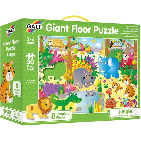 Jungle Giant Floor Jigsaw Puzzle