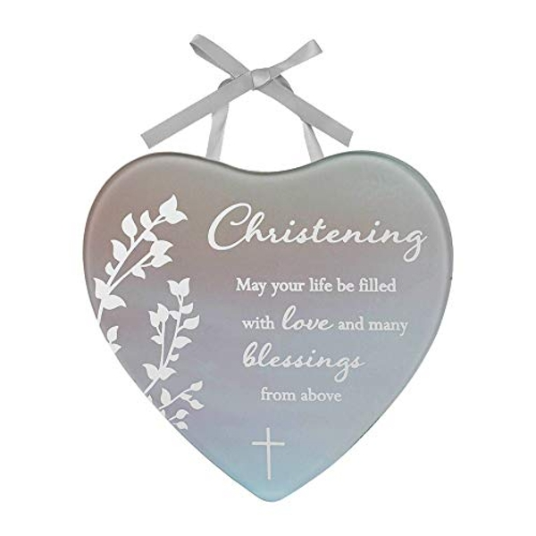 Reflections Of The Heart Mini Plaque Christening