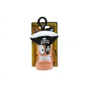 Worms Pirate Keychain Plush