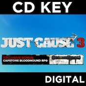 Just Cause 3 Day One Edition (Capstone Bloodhound DLC) PC CD Key Download for Steam