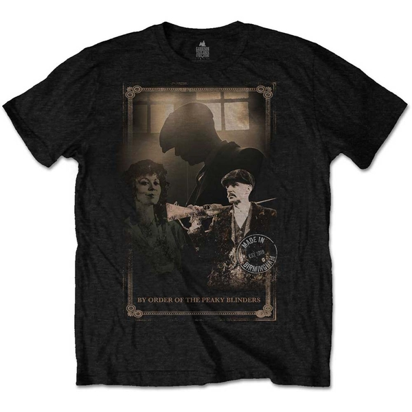 Peaky Blinders - Shotgun Men's Small T-Shirt - Black