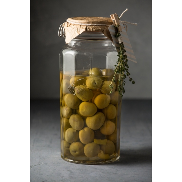 Kilner Faceted Clip Top Jar 1.8L