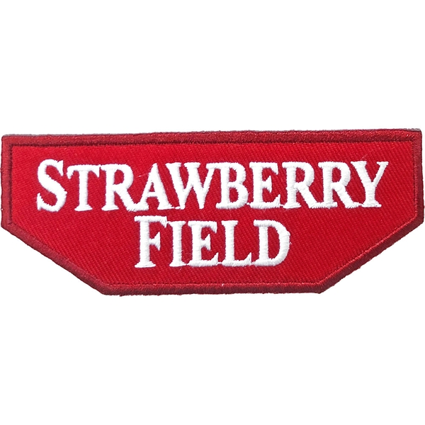 Road Sign - Strawberry Field Standard Patch