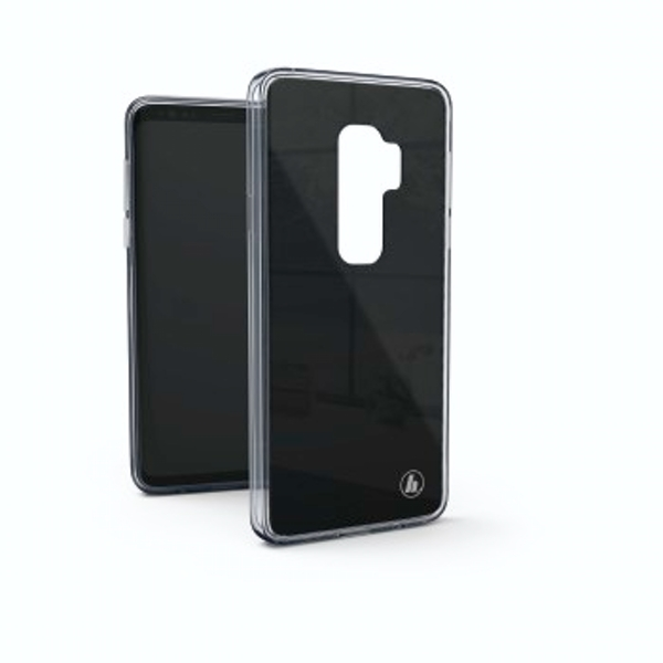 "Hama ""Glass"" Cover for Samsung Galaxy S9+, black"
