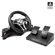 Hurricane Gaming Steering Wheel With Pedals PS4/PS3