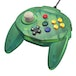 Forest Green Retro-Bit Tribute 64 Controller for Nintendo 64 - Image 4