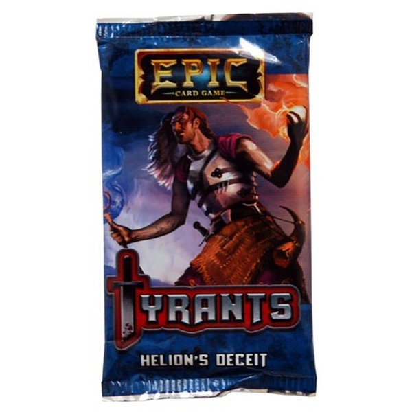Epic Card Game Tyrants: Helion's Deceit Expansion