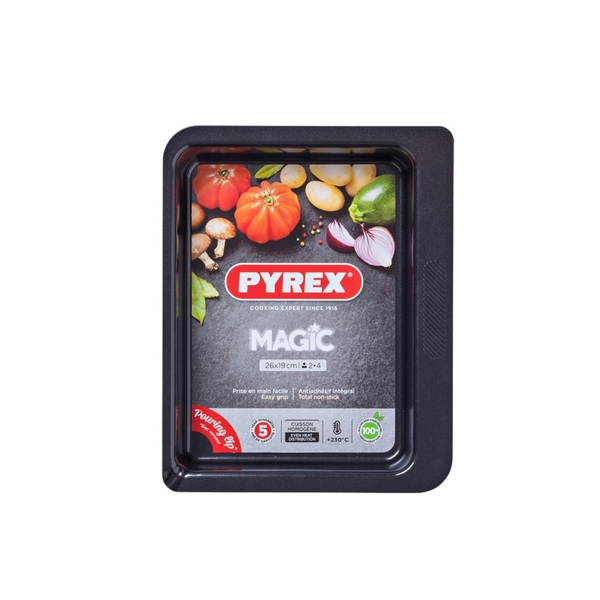 Pyrex Magic Rectangular Roaster 26cm