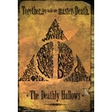 Harry Potter Deathly Hallows Gold Maxi Poster