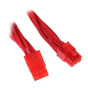 BitFenix Alchemy 6Pin PCIe Extension 45cm - sleeved red/red
