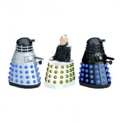 Doctor Who 3 Piece Dalek and Davros Limited Edition Set