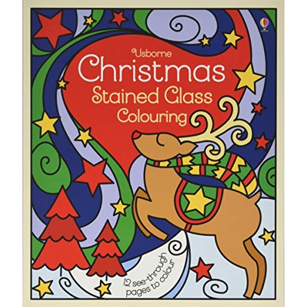 Christmas Stained Glass Colouring  Paperback / softback 2018