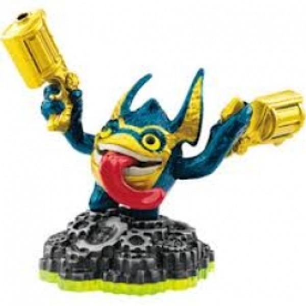 Legendary Trigger Happy (Skylanders Spyro's Adventure) Tech Character Figure - Image 1