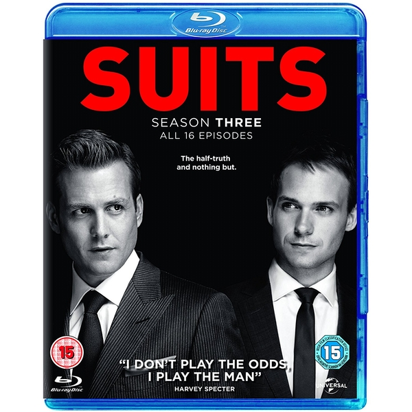 Suits - Season 3 Blu-ray