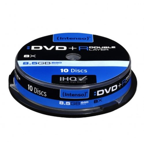 Intenso DVD R, 8.5GB, 8x Speed, Dual Layer, Slim Case of 5