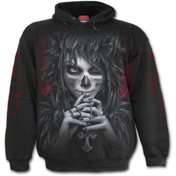 Day of The Goth Men's Small Hoodie - Black