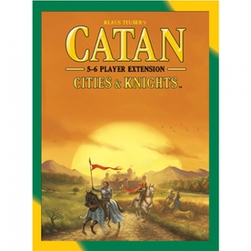 Catan Cities & Knights 5-6 Player Extension 2015 Refresh Board Game