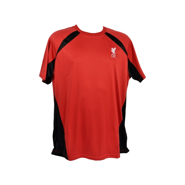 L Liverpool Poly Panel Tee Red Retail Packaging