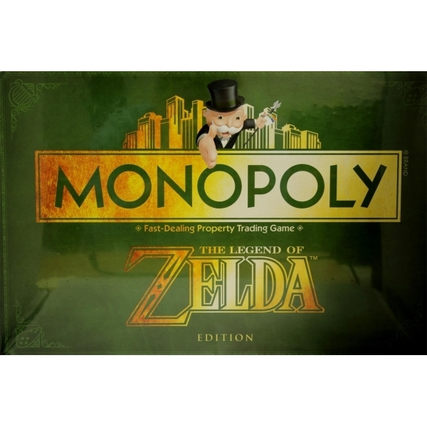 Ex-Display The Legend Of Zelda Monopoly Board Game Used - Like New