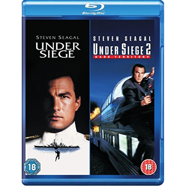 Under Siege/Under Siege 2 - Dark Territory Blu-ray
