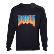 DOOM Mens Vintage Logo XX-Large Sweater