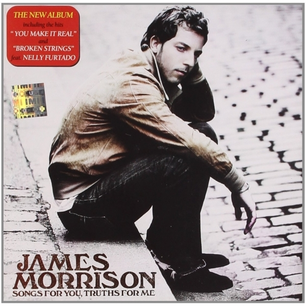 James Morrison - Songs For You  Truths For Me CD