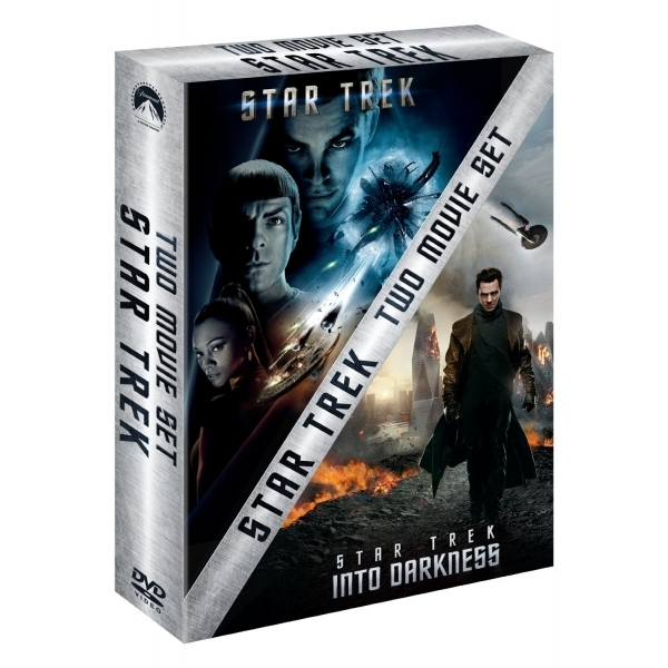 Star Trek & Star Trek Into Darkness Double Boxset DVD