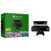 Xbox One 500GB Console with Kinect Sensor (Includes 3 Games)