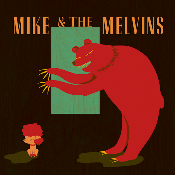 Mike & The Melvins ‎– Three Men And A Baby Limited Edition White Vinyl