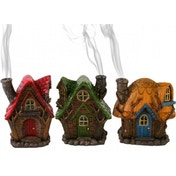 Fairy House Incense Cone Holder Pack Of 6