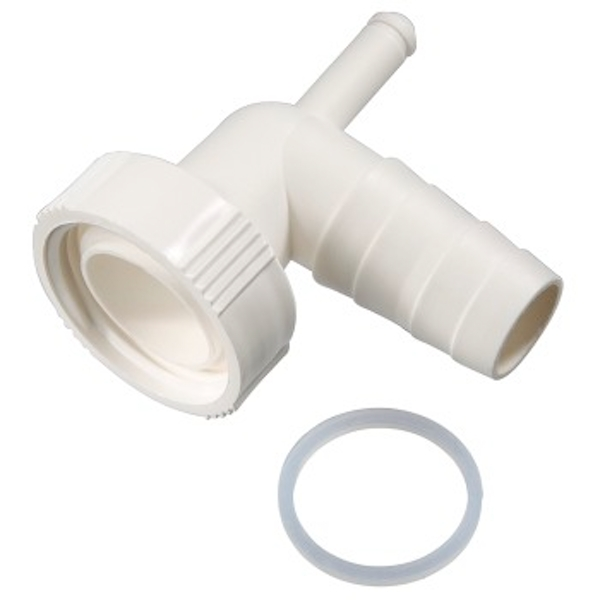 Xavax - Siphon Connection with Condensate Connection - White - Plastic Material (1 ACCESSORES)