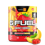 G Fuel Strawberry Banana Tub (40 Servings) Elite Energy and Endurance Formula