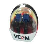 VCOM VGA (M) to VGA (M) 10m Black Retail Packaged Display Cable
