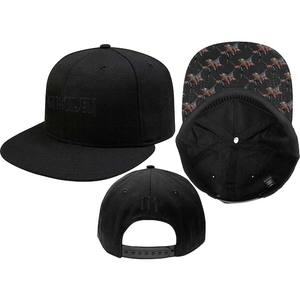 Iron Maiden - Logo & Trooper Men's Snapback Cap - Black
