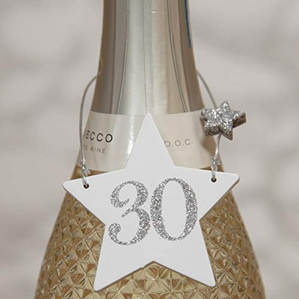 Milestones Star Wine Bottle Tag - 30